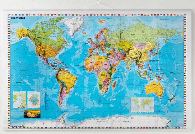 Wereldkaart op rol van 137x89cm koop deze wereldkaart nu bij wereldkaart op rol 137x89cm beschrijfbaar thecheapjerseys Choice Image