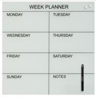 Glassboard weekplanner GB